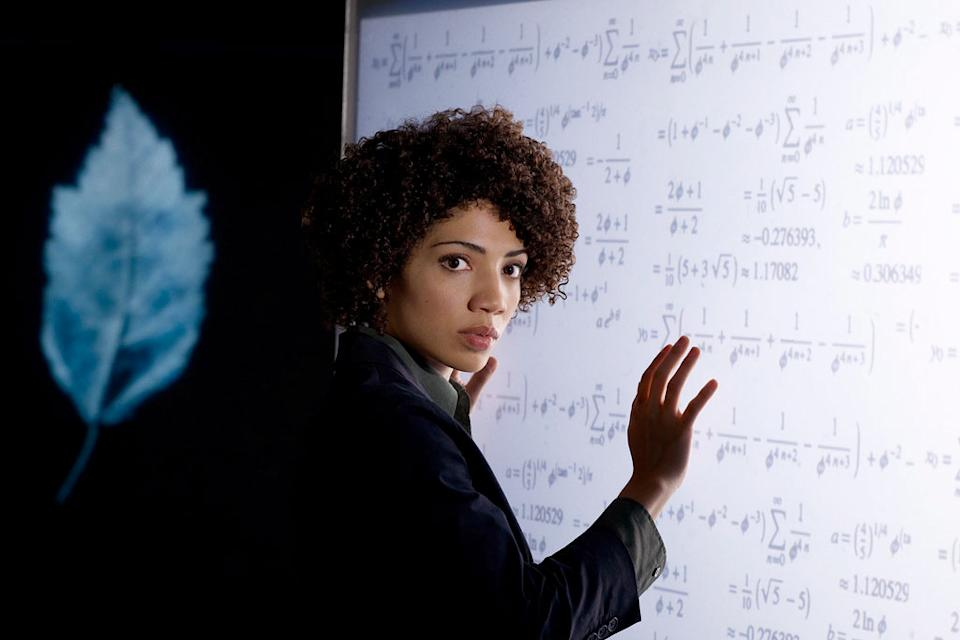 Jasika Nicole stars as Junior Agent Astrid Farnsworth in Fringe.