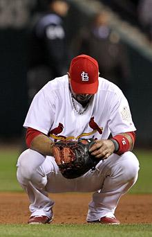 Pujols displays zero leadership after Game 2 loss