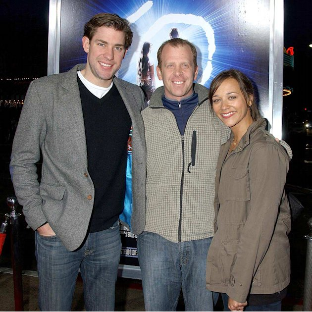John Krasinski , Ray Lieberstein and Rashida Jones at the &quot;The Last Mimzy&quot; Los Angeles Premiere. - March 20, 2007 
