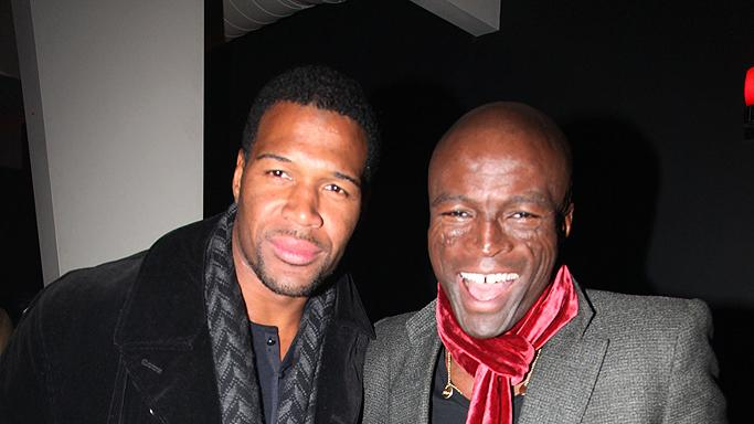 Michael Strahan, Seal