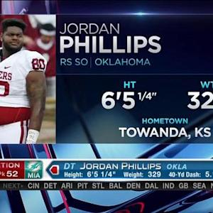 Miami Dolphins pick defensive tackle Jordan Phillips No. 52 in 2015 NFL Draft