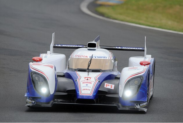 Toyota Ts 030-Hybrid  N°7 driven by Japa