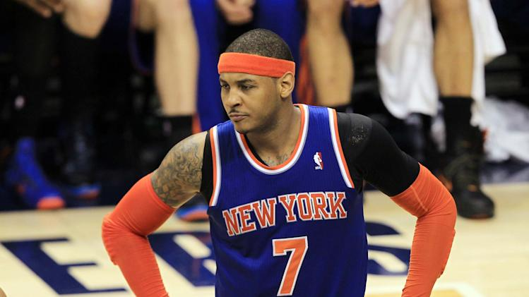 NBA: Playoffs-New York Knicks at Indiana Pacers