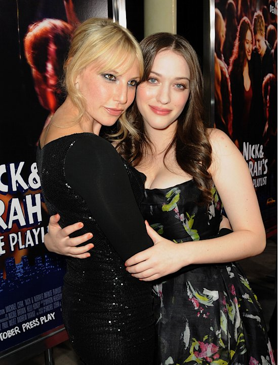 Nick and Norah's Infinite Playlist Premiere LA 2008 Ari Graynor Kat Dennings