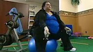 Betty Bevans has lost 300 pounds by educating herself about exercise and weight loss.