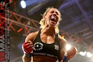 Invicta FC Champ Cris Cyborg Crushes Jennifer Colomb in Lion Fight 11 Muay Thai Bout