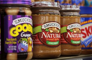 Smucker products: Credit Getty Images