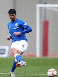 Rangers defender Emilson Cribari is set for a spell on the sidelines
