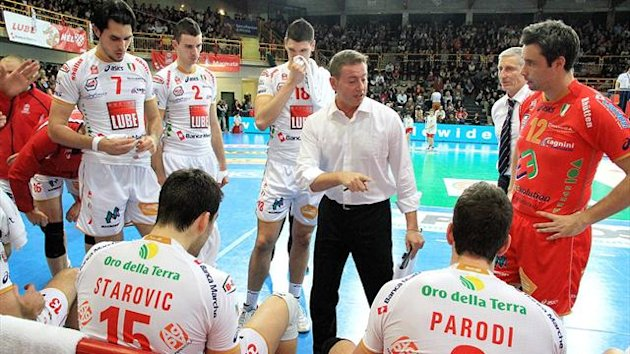 Volleyball Serie A1 Men 2012-2013 Lube Macerata