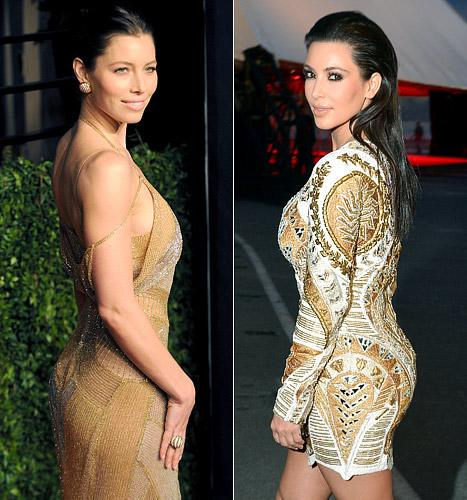 Jessica Biel vs. Kim Kardashian: Who Has the Best Butt?
