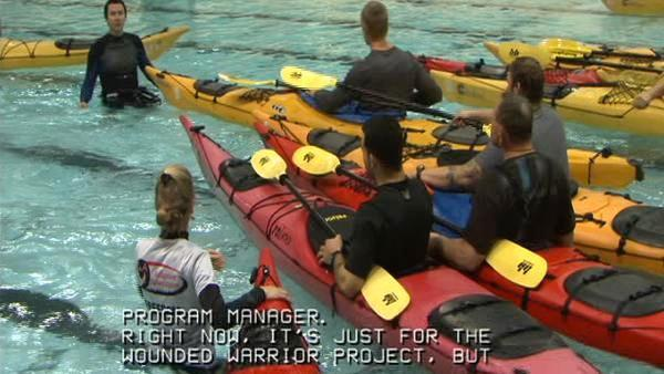 Fun activities for wounded vets, disabled individuals at Adaptive Adventures