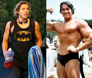 Arnold Schwarzenegger's Lookalike Love Child Son Joseph Turns 16, Receives Home Gym
