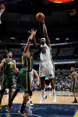 Randolph, Gasol lead Grizzlies past Jazz, 96-86