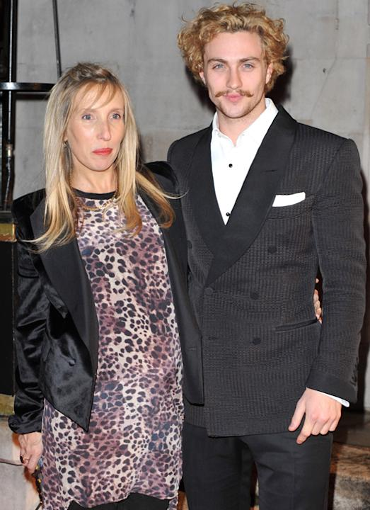 Weird celebrity couples: Although many men date women younger than them, it's still strange to see the roles reversed especially when Sam Taylor Wood began seeing 24-years-her junior, Aaron Johnson.