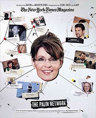 Sarah Palin in New York Times Magazine