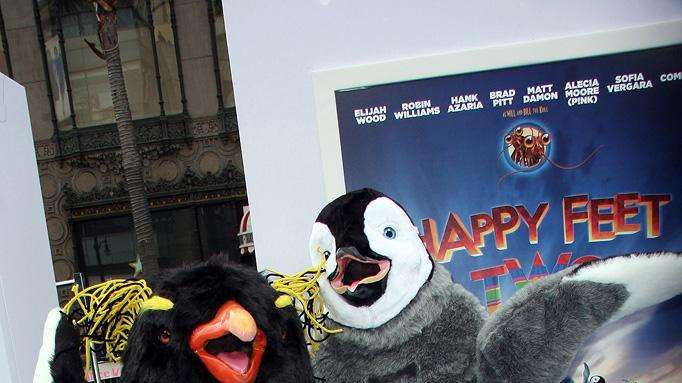 Happy Feet Two LA Premiere 2011