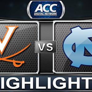 Virginia vs North Carolina | 2013 ACC Football Highlights