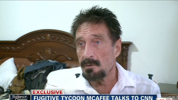 John McAfee's Life as an Outlaw (Might) Be Over