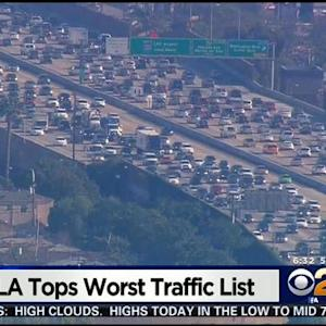 Study: Los Angeles Worst City In US For Gridlock