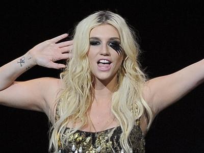 Ke$ha's new 'Warrior' pose