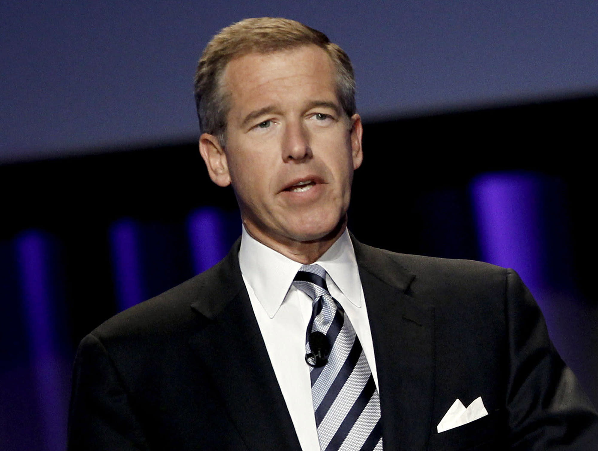 Brian Williams settles into new job at MSNBC