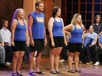 The Sentis: Emily, Tammy, Scott, Kelly - Episode 102: Italian vs. Diner NBC's The Biggest Loser: Special Edition