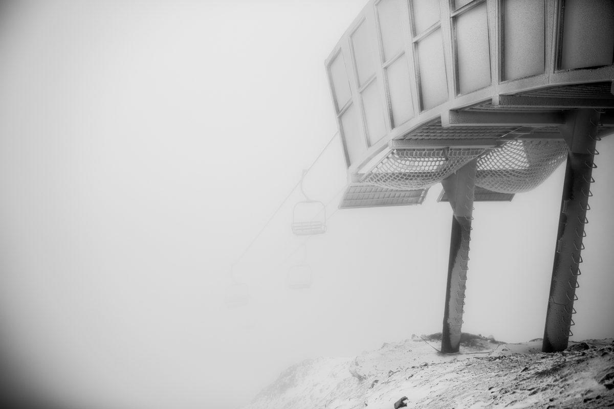 Check Out These Photos of Snow at Mammoth, in Black & White