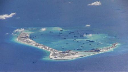 U.S. hopes Chinese island-building will spur Asian response