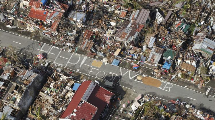 To help typhoon victims, send money, not stuff