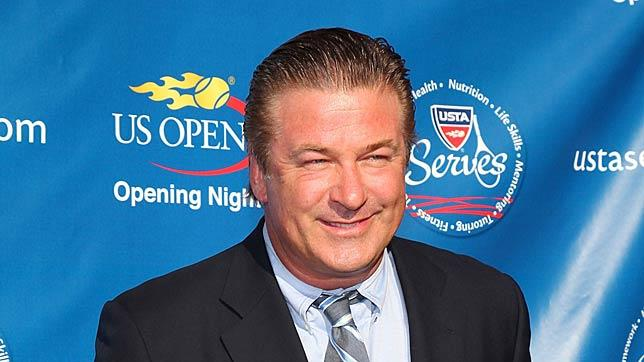 Alec Baldwin US Open