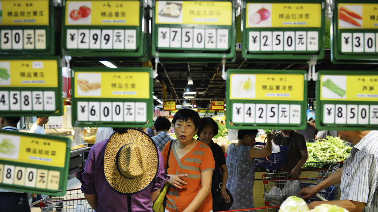 China's June inflation rises to 2.7 percent