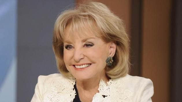 Barbara Walters on 'The View' -- ABC