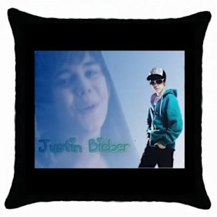Just your standard decorative throw pillow with romanticized images of someone else's kid at age 12. What?
