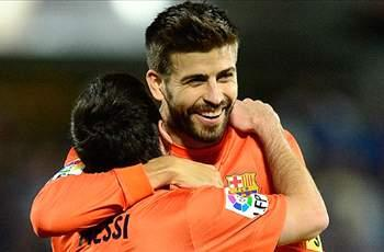 Pique: Ronaldo the best among humans but Messi is from another planet
