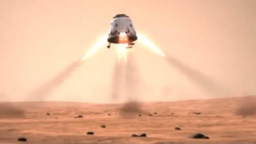 Huge Mars Colony Eyed by SpaceX Founder Elon Musk
