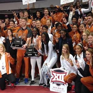 Texas Sweeps Indoor T&F Titles