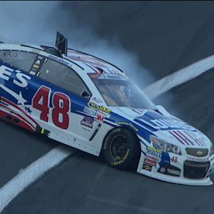Johnson struggles in Coca-Cola 600