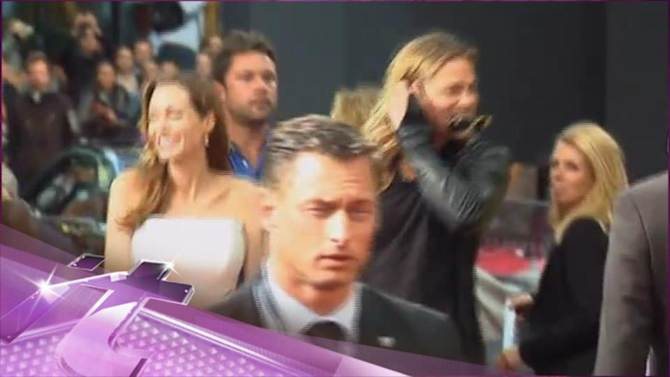 Entertainment News Pop: Brad Pitt Ends Up In LA for Another World War Z Screening!