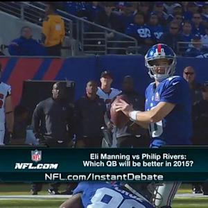 Will Eli Manning or Philip Rivers have a better season?