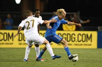 San Jose Earthquakes 2-2 Swansea City: Lenhart scores twice in last 10 minutes