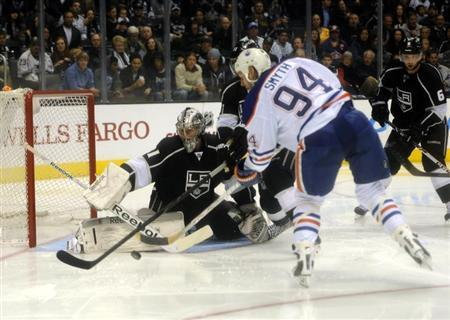 NHL: Edmonton Oilers at Los Angeles Kings