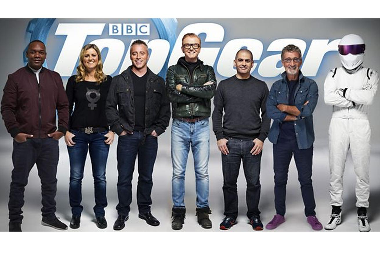 Top Gear trumpets new lineup: the 'magnificent seven from motoring heaven'