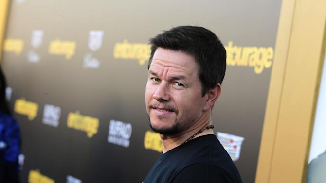 "Mark Wahlberg seen at Warner Bros. Premiere of ""Entourage"" held at Regency Village Theatre on Monday, June 1, 2015, in Westwood, Calif. (Photo by Eric Charbonneau/Invision for Warner Bros./AP Images)"