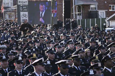 Tensions with New York City police go beyond racial issues: commissioner