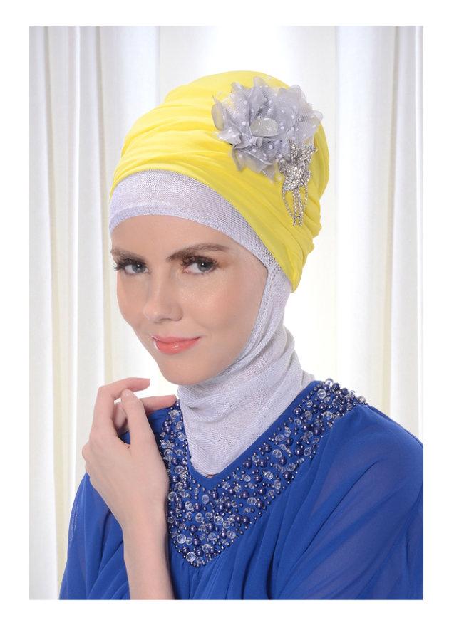 Cara Memakai Jilbab Turban Gaya