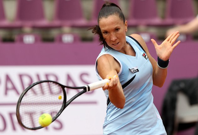Serbian Jelena Jankovic Returns AFP/Getty Images