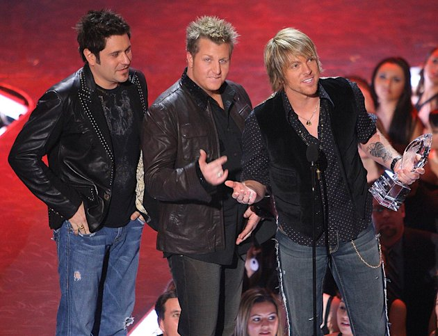 "Rascal Flatts wins Favorite Song from a Movie for ""Life is a Highway"" at The 33rd Annual People's Choice Awards."
