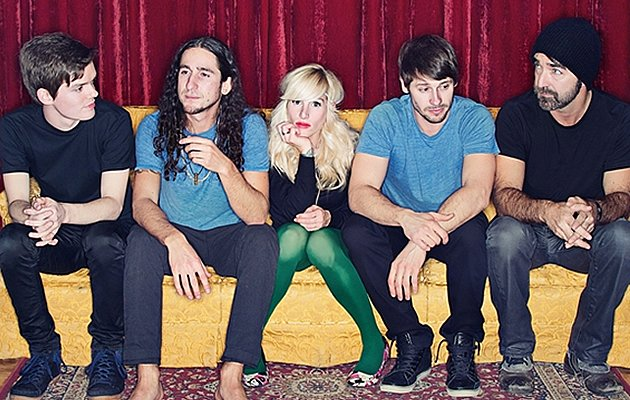 Walk Off The Earth (L-R): Joel Cassady, Gianni Luminati, Sarah Blackwood, Ryan Marshall, Mike Taylor.