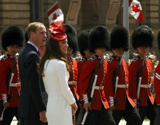 Support for the monarchy hovers above 50 percent in Canada