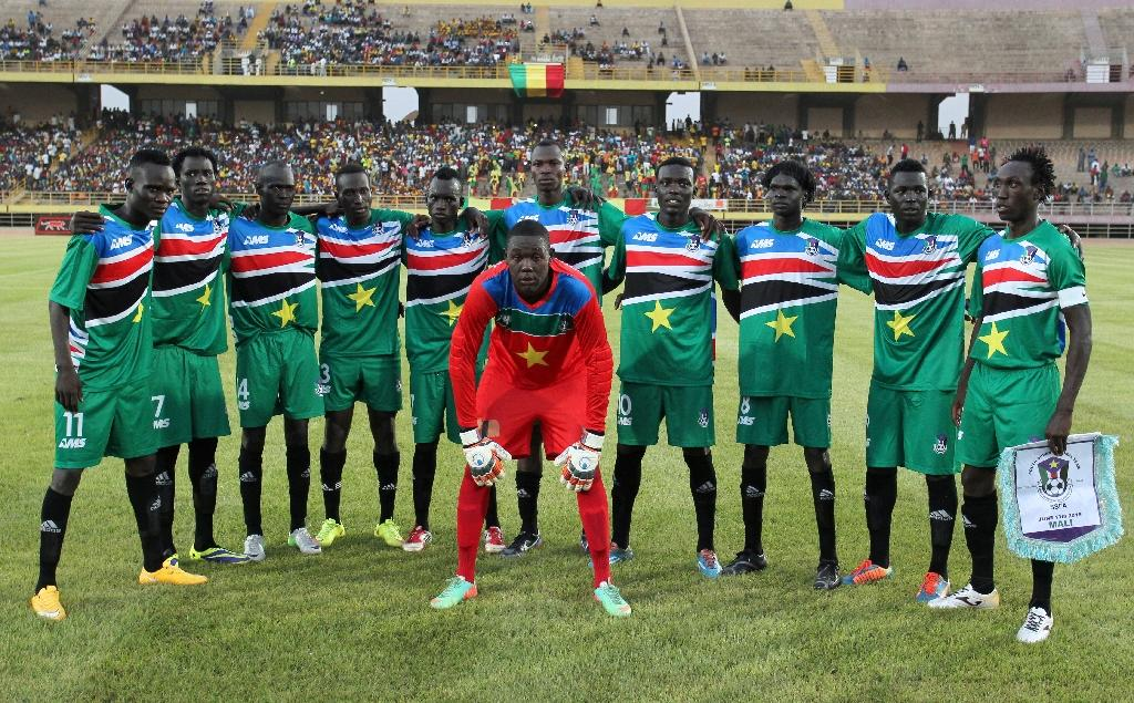 Downpour spoils South Sudan World Cup debut
